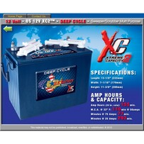 12 volt 155 amp hour US Batteries ONLY $470 each including gst