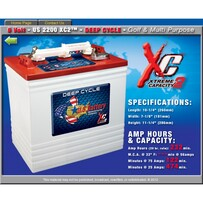 6 Volt 232 amp hour US2200XC Batteries ONLY $316 each including gst